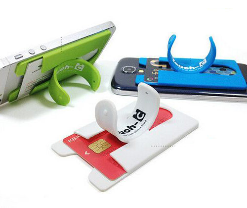 universal mount for phone compartment card
