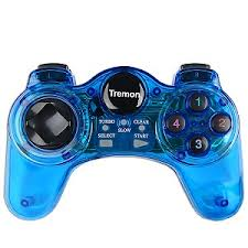 USB Game Pad Tremon (Translucent Blue)