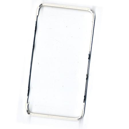 Εξωτερικο Περιμετρικο Στεφανι Οθονης Για Apple iPhone 4S Ασπρο OEM