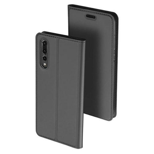 Θηκη Book DD Skin Pro Huawei P20 Pro Ανθρακι
