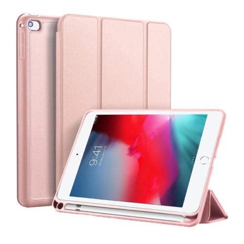 Θηκη Book Tablet DD Osom Για Apple Ipad Mini 4 / 5 Ροζ Χρυση