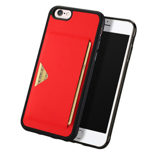 Θηκη DD Pocard Για Apple Iphone 6/6s  Κοκκινη