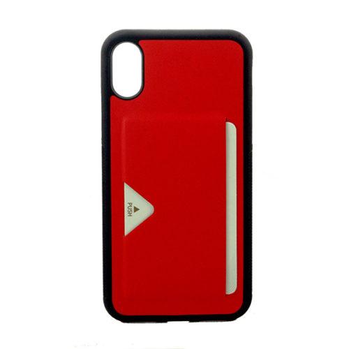Θηκη DD Pocard Για Apple Iphone X / Xs Κοκκινη
