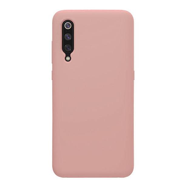 Θηκη Liquid Silicone για Xiaomi Mi 9 Ροζ
