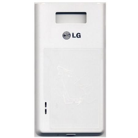 Καλυμμα Μπαταριας Για LG P700 Optimus L7 Ασπρο