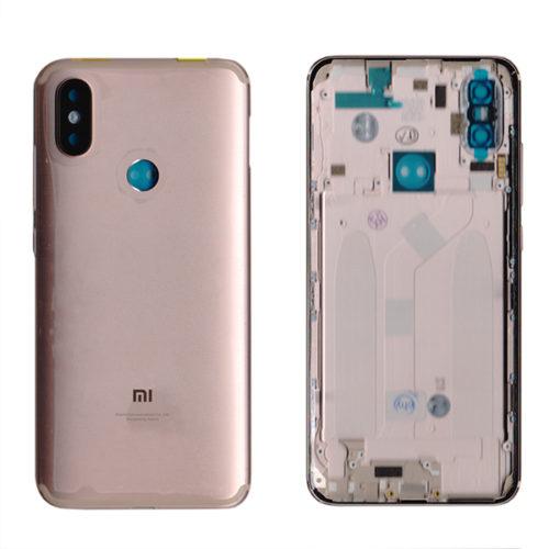 Καλυμμα Μπαταριας Για Xiaomi Mi A2 / Mi 6X Χρυσο Με Πληκτρα Grade A