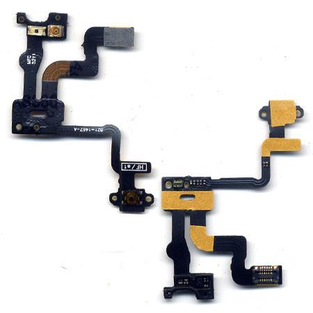 Καλωδιο Πλακε Για Apple iPhone 4S Φωτισμου&Ευαισθησιας OEM Με Sidekey
