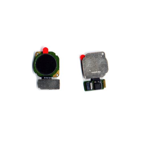 Καλωδιο Πλακε Για Huawei Mate 20 Lite Home Button με Αναγνωστη Δακτυλικου Αποτυπωματος Μαυρο