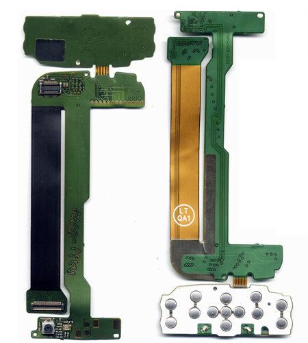 Καλωδιο Πλακε Για Nokia N95 8G Αρθρωσης Με Επαφη Ανω Πληκτρολογιου-Καμερα Μικρη OEM