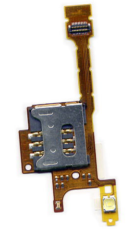 Καλωδιο Πλακε Για SonyEricsson G705 - W705 - W715 Με Πλακετα Sim Και Memory Card OR