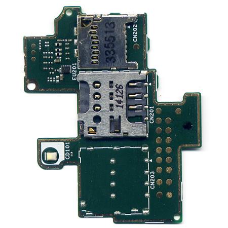 Καλωδιο Πλακε-Πλακετα Για SonyEricsson C1905 - C1904 - Xperia M Με Μια Υποδοχη Sim Και Memory Reader OR