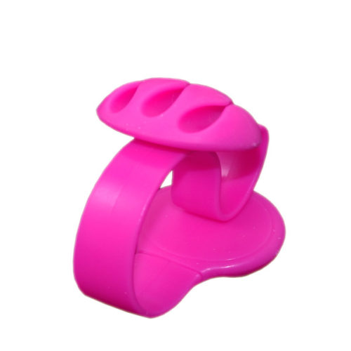 Κλιπ Στηριξης Καλωδιων Διπλο GNG Για Καλωδια Φορτισης Ροζ