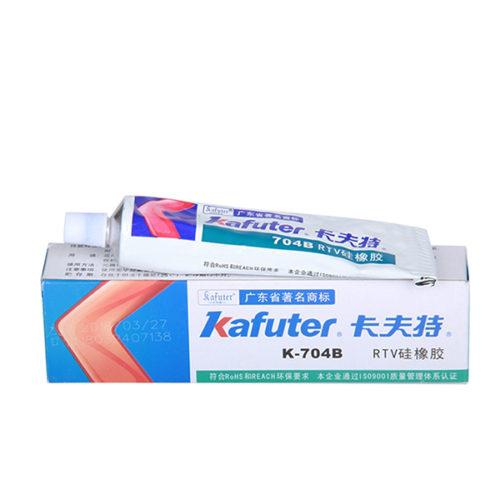 Κολλα Silicone Rubber Kafuter K-704 Μαυρη 45g