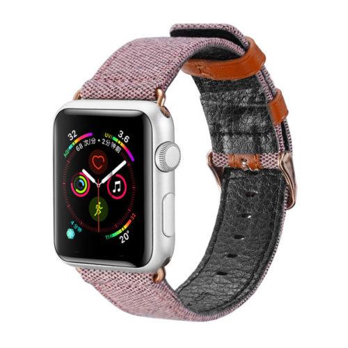 Λουρακι Dux Ducis Για Apple Watch 38mm - 40mm Ροζ