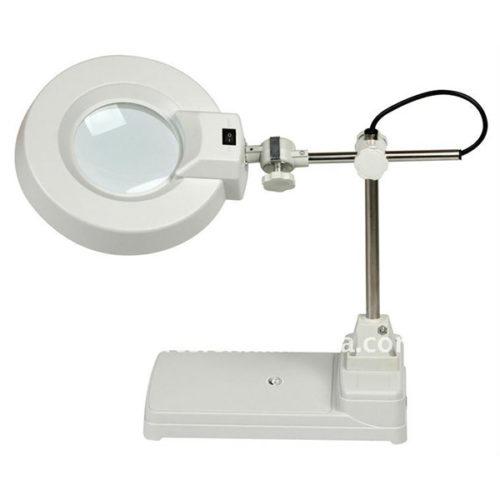 Μεγεθυντικος Φακος Μεγαλος x10 Με Λαμπα LED