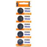 Μπαταρια Vinnic CR2025 5 Τεμαχια