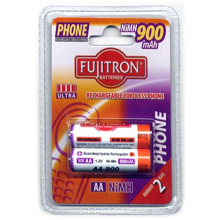 Μπαταριες AA Fujitron Επαναφορτιζομενες  ΝιΜΗ 900mAh (2 τεμ)