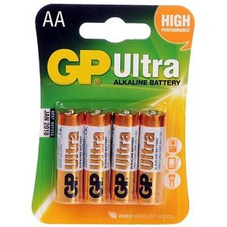 Μπαταριες GP Alkaline AA LR6 (4 τεμ)