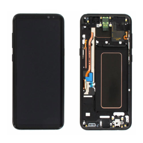 Οθονη Για Samsung G955 Galaxy S8+ Με Τζαμι Μαυρο OR GH97-20564A /GH97-20470A