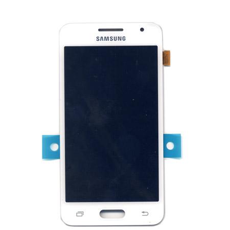 Οθονη Για Samsung Galaxy Core 2 G355 Με Τζαμι Ασπρο OR (GH97-16070A)