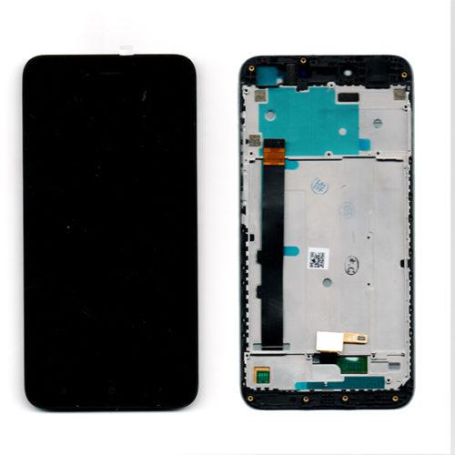 Οθονη Για Xiaomi Redmi Note 5A Με Τζαμι και Frame Μαυρο Grade A