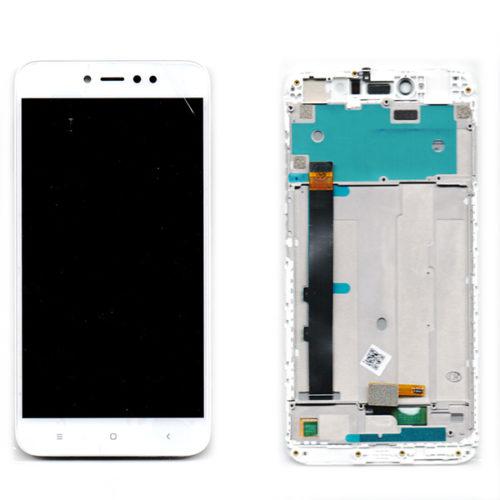 Οθονη Για Xiaomi Redmi Note 5A Prime Με Τζαμι Ασπρο και Frame Grade A