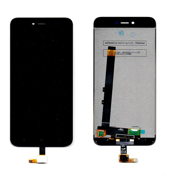 Οθονη Για Xiaomi Redmi Note 5A Prime Με Τζαμι Μαυρο Grade A