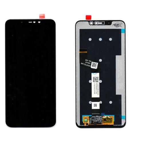 Οθονη Για Xiaomi Redmi Note 6 Pro Με Τζαμι Μαυρο Grade A