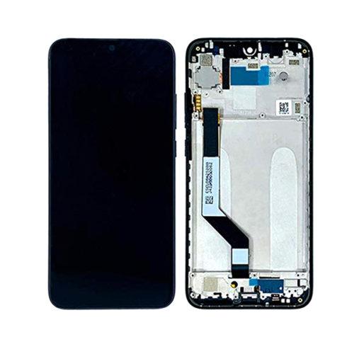 Οθονη Για Xiaomi Redmi Note 7 Με Τζαμι και Frame Μαυρο Grade A