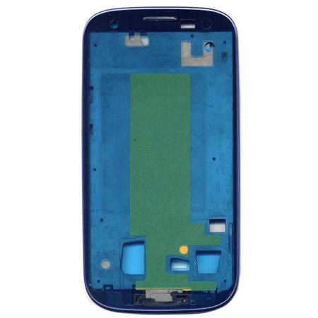 Περιμετρικο Προσοψης Για Samsung i9300 Μπλε Με Frame OR