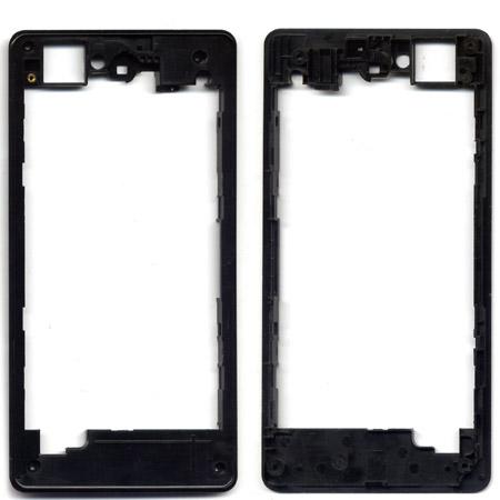 Πισω Frame Περιμετρικο Για Sony Xperia Z1 Compact D5503 Μαυρο OR