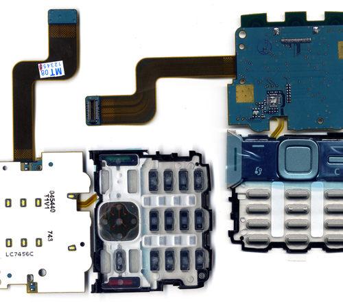 Πλακετα Πληκτρολογιου Για Nokia N82 Με Πληκτρολογιο Μαυρο UI Cover Assy Με Μικροφωνο OR