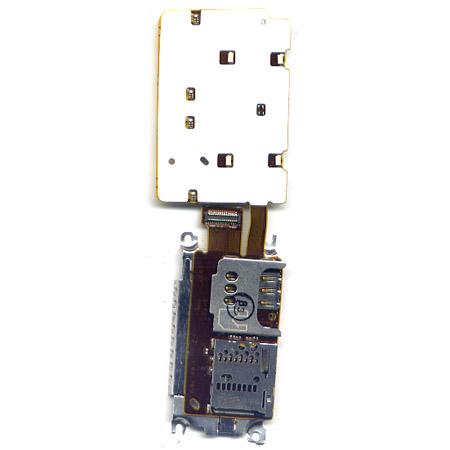 Πλακετα Πληκτρολογιου Για Nokia X3-02 OEM Με Υποδοχη Sim-Memory Card