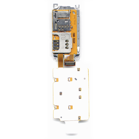 Πλακετα Πληκτρολογιου Για Nokia X3-02 OR Με Υποδοχη Sim-Memory Card