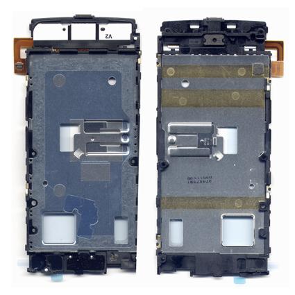 Πλακετα Πληκτρολογιου Για Nokia X6 OR Με Βαση Οθονης-Μεσαιο Πλαισιο-Καλωδιο Πλακε Με Υποδοχη AV-Flex Ακουστικου