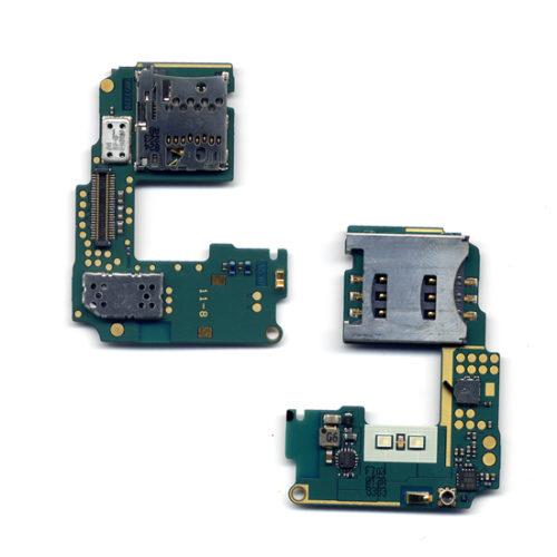Πλακετα Sim & Memory Καρτας Για Nokia N85 Με Διακοπτη Καμερας Και Φλας OR
