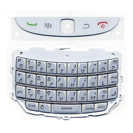 Πληκτρολογιο Για Blackberry 9800 OR Ασπρο Σετ Ανω-Κατω