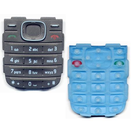 Πληκτρολογιο Για Nokia 1208 Γκρι OEM