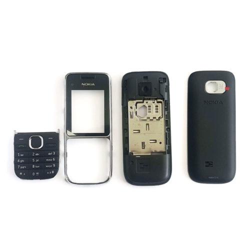 Προσοψη Για Nokia C2-01 Μαυρη Full Με Πληκτρολογιο OEM