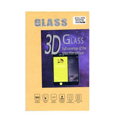 Προστατευτικο Τζάμι Οθονης Plus One 3D Για iPhone  6+ / 6S+ Μαυρο
