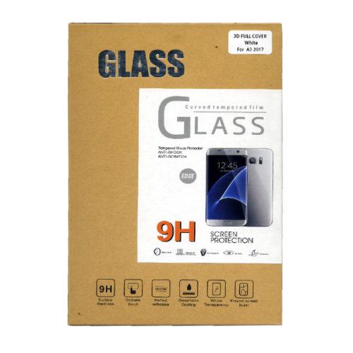 Προστατευτικο Τζαμι Οθονης Plus One 3D Για Samsung A320 Galaxy A3 2017 Άσπρο