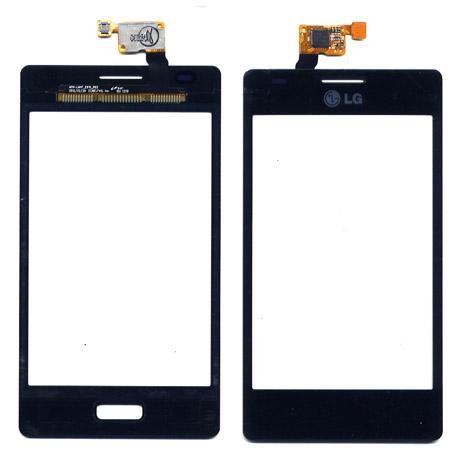 Τζαμι Για LG E610 Optimus L5 Μαυρο OR