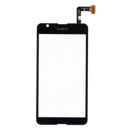 Τζαμι Για Sony Xperia E4G Μαυρο Grade A