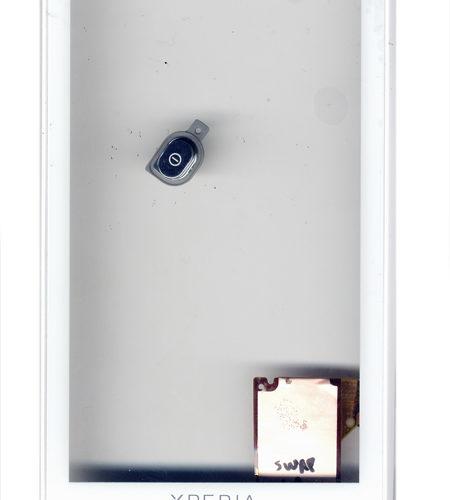 Τζαμι Για SonyEricsson Xperia X10 Με Εμπρος Μερος Προσοψης Ασπρη OR