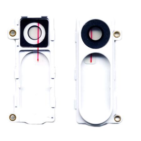 Τζαμι Καμερας Για LG G3 D855 Ασπρο Με Frame OR