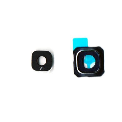 Τζαμι Καμερας Για Samsung G928 Galaxy S6 Edge+ Μαυρο/Μπλε Με Frame