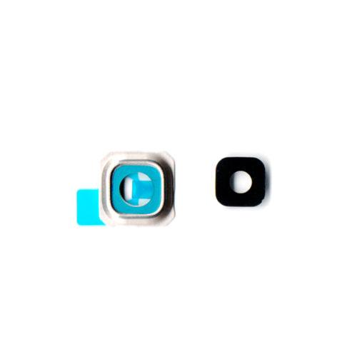 Τζαμι Καμερας Για Samsung G928 Galaxy S6 Edge+ Χρυσο Με Frame