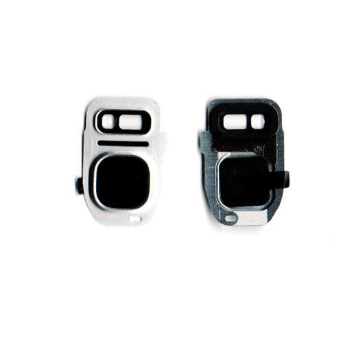 Τζαμι Καμερας Για Samsung Galaxy G930 S7 / G935 S7 Edge Ασημι Με Frame