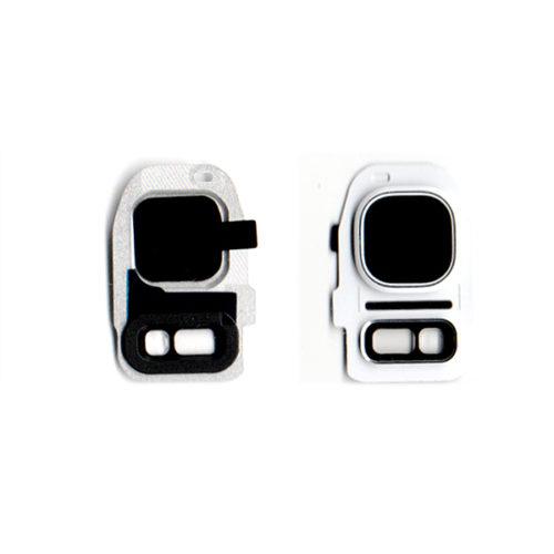 Τζαμι Καμερας Για Samsung Galaxy G930 S7 / G935 S7 Edge Ασπρο Με Frame