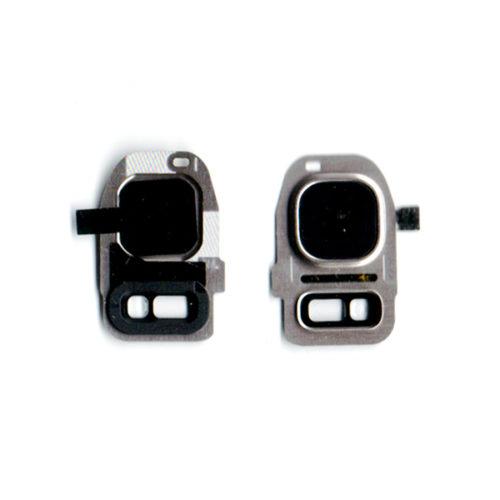 Τζαμι Καμερας Για Samsung Galaxy G930 S7 / G935 S7 Edge Χρυσο Με Frame